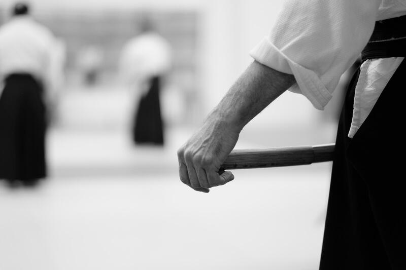 Leominster Martial Arts_Aikido students_Katana