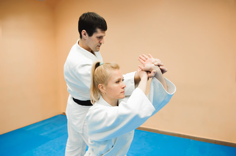 Leominster Martial Arts_Male and Female Spar