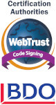webtrust_code_signing BDO SSL Badge
