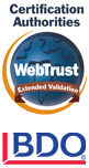 webtrust_extended valuation BDO SSL badge